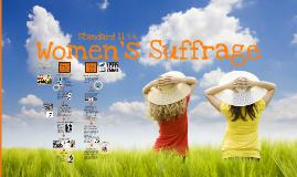11.5.4 Women's Suffrage