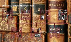 Copy of litterära epoker, en tidslinje