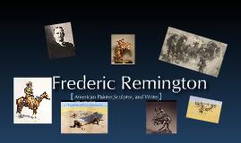 Copy of Frederic Remington