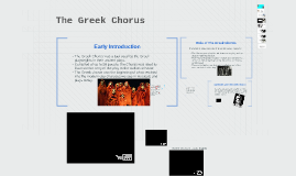 Copy of Copy of The Greek Chorus