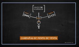 CAMPAÑAS DE PUNTO DE VENTA