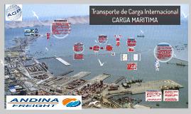 Transporte de Carga Internacional CARGA MARITIMA