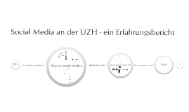 Social Media an der UZH - ein Erfahrungsbericht