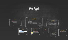 iPad Apps!