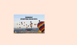 Copy of Albuquerque International Balloon Fiesta