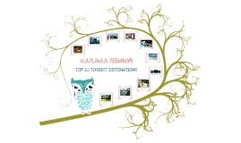 TOP 10 TOURIST DESTINATIONS IN CARAGA.