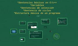 Sentencias basicas en C/c++