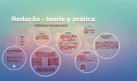 Redação - teoria e prática