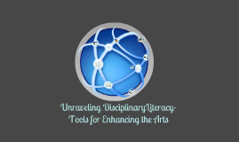 Copy of Unraveling Disciplinary Literacy- tools for enhancing the Arts