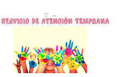 SERVICIO DE ATENCION TEMPRANA