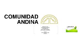 Copy of LA COMUNIDAD ANDINA