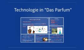 """Technologie in """"Das Parfum"""""""