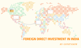 FORIEGN DIRECT INVESTMENT IN INDIA