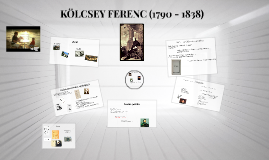 KÖLCSEY FERENC (1790 - 1838)