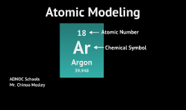 Atomic Modeling Project