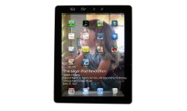 The Legal iPad Revolution - CALI June 2012