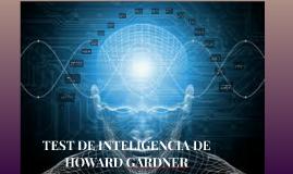 Copy of TEST DE INTELIGENCIA DE HOWARD GARDNER