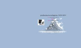 productos tecnologicos  2013-2014