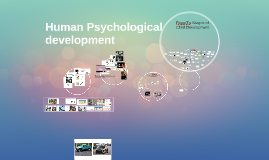 Copy of Human Psychological development