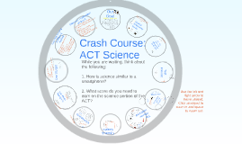 GBS Crash Course: Science ACT