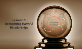 Lesson17 Regnizing Harmful Relationships
