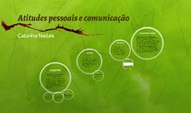 Atitudes pessoais e comunicação