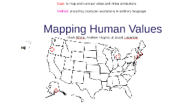 Mapping Human Values