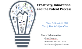 Creativity, Invention, and the Patent Process