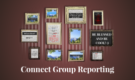 Connect Group Reporting