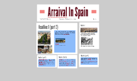 Arraival In Spain