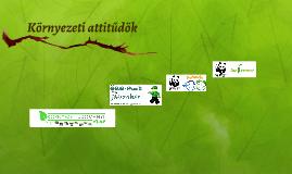 Környezeti attitűdök