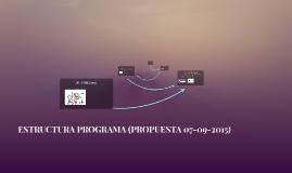 Copy of ESTRUCTURA PROGRAMA (PROPUESTA 07-09-2015)