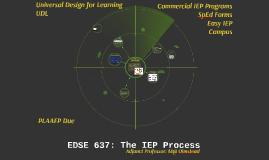 EDSE 637: Wk5 - IEP Process