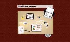 Copy of El Espiritu de las Leyes