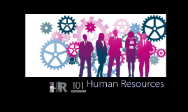 HR101, An Introduction to HRM