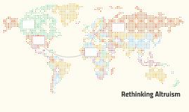 Rethinking Altruism
