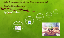 Site Assessment at the Environmental Protection Agency
