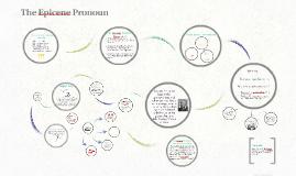 The Epicene Pronoun