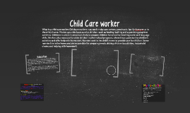 Copy of Child Care worker