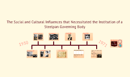 Copy of The Social and Cultural Influences that Necessitated the Institution of a Steelpan Governing Body