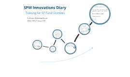 SPM Innovations Diary training