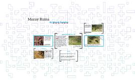 Moray Ruins