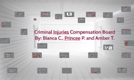 Copy of Copy of Criminal Injuries Compensation Board