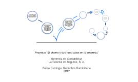 """Proyecto """"El ahorro y sus resultados en la empresa"""""""
