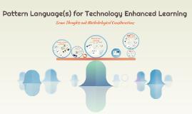 Pattern Language in Education