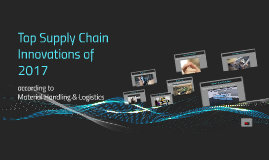 Top Supply Chain Innovations of 2017