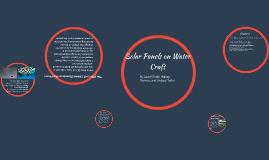 Solar Panels on Water Class
