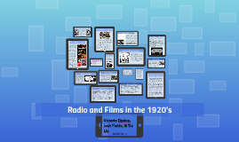 Radio and Film in the 1920's