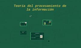 Teoría del procesamiento de la información