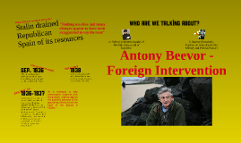 Antony Beevor - Foreign Intervention